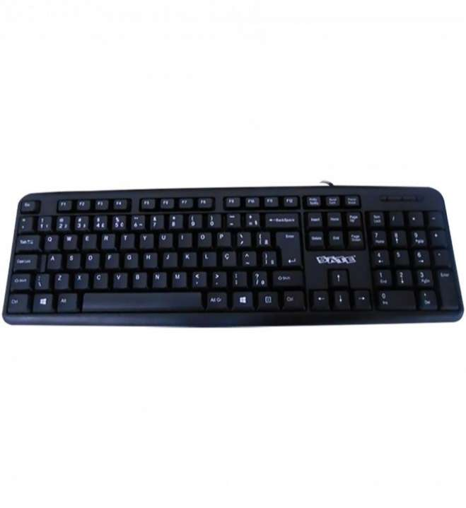 Combo gabinete Sate K761 con teclado mouse parlante y fuente - 5