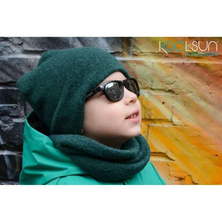 Lente de sol para niños Koolsun Wave negro Onyx 1 a 5 años - 3
