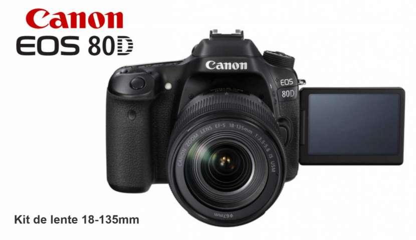 Cámara Canon EOS 80D Kit 18-135mm - 0
