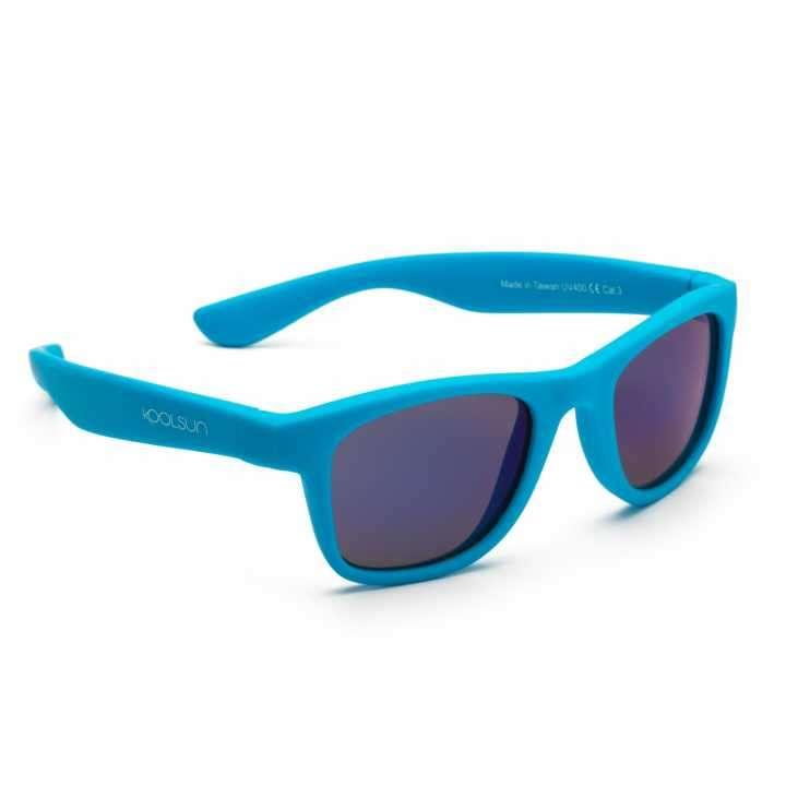 Lente de sol para niños Koolsun Wave Neon Blue 1 a 5 años - 0
