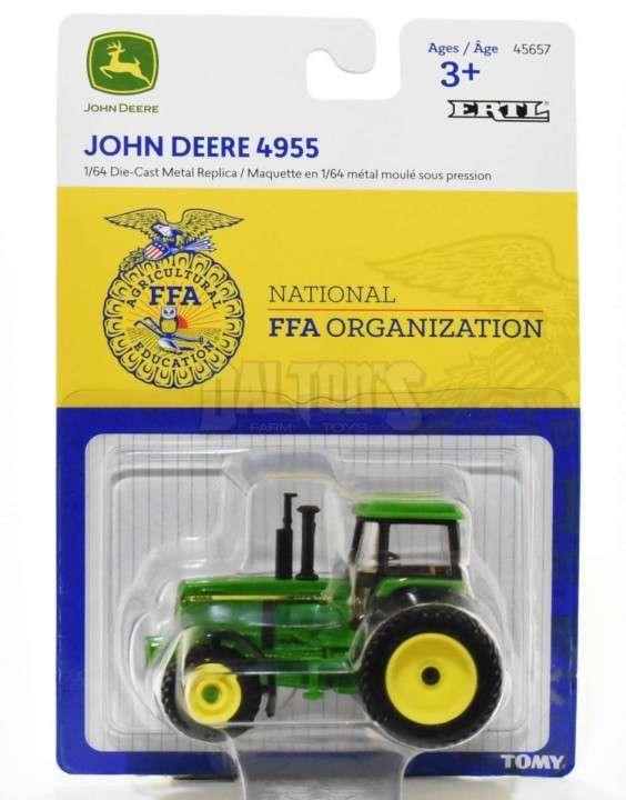 Tractor John Deere 4955 logo FFA - 1