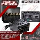 Fuente para PC 450W Silenciosa Power Supply EVGA - 0