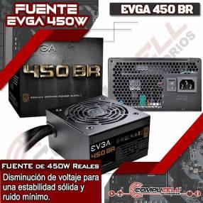 Fuente para PC 450W Silenciosa Power Supply EVGA