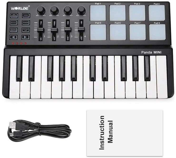 Controlador MIDI USB con pads - 1
