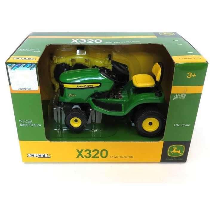 Tractor de jardín Jhon Deere X320 - 1