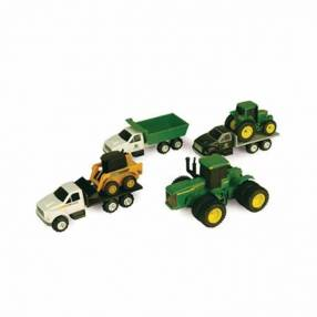 Set de mini vehículos de John Deere