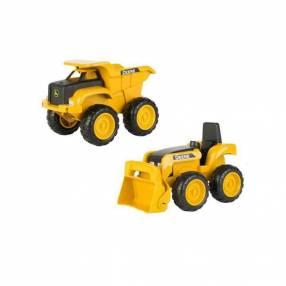 Set vehículos de construcción de John Deere 2x1