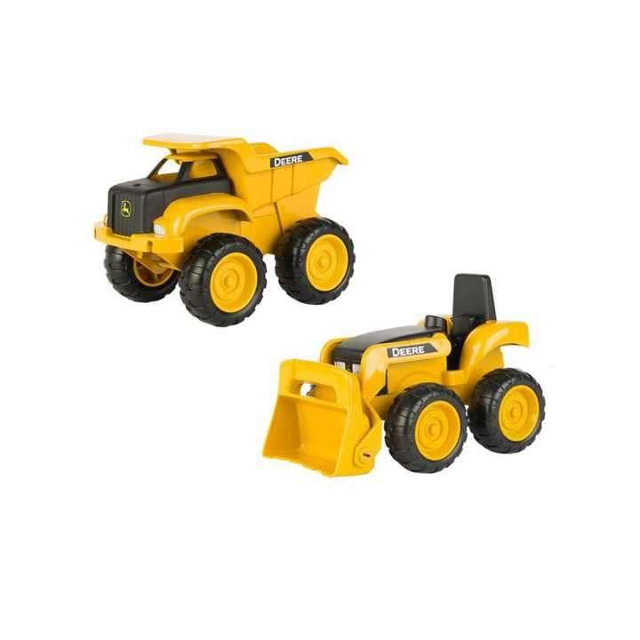 Set vehículos de construcción de John Deere 2x1 - 0