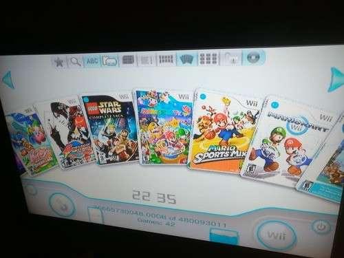 Nintendo Wii desbloqueado con juegos - 2