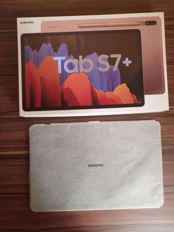 """Samsung TAB S7+ Plus 12.4"""" 128 GB - 3"""