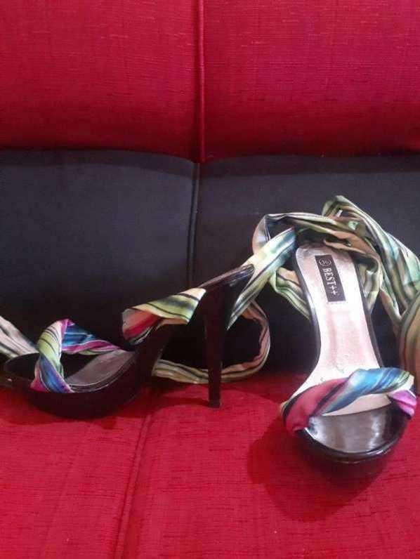 Zapatos taco alto - 0