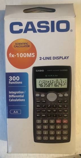 Calculadora Científica Casio FX-100MS