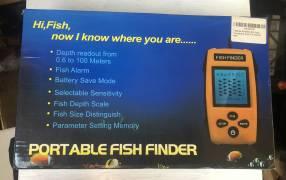 Buscador de peces portátil
