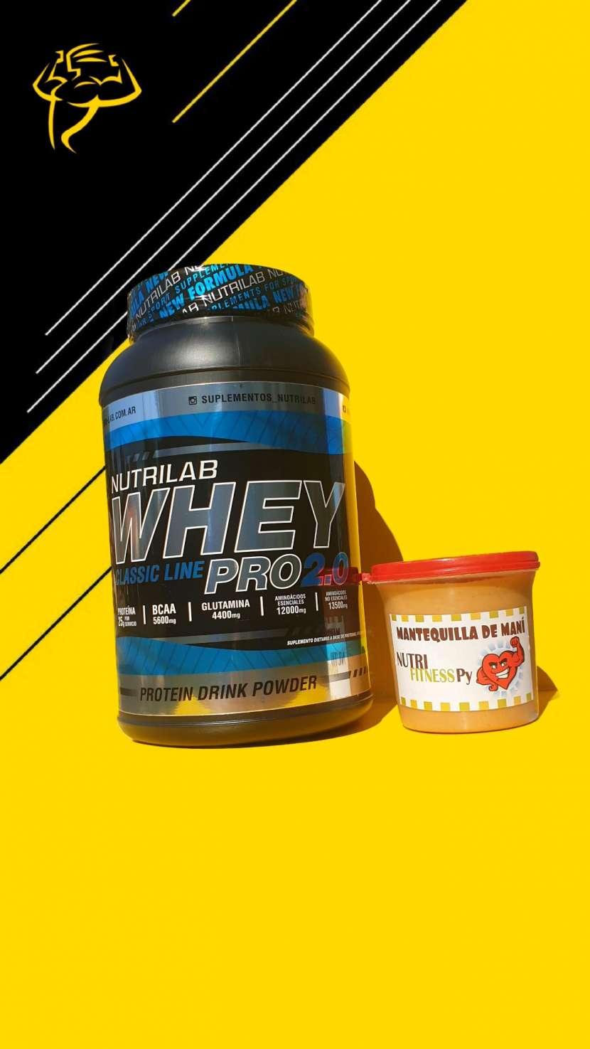 Combo Whey Protein + Mantequilla de maní - 0