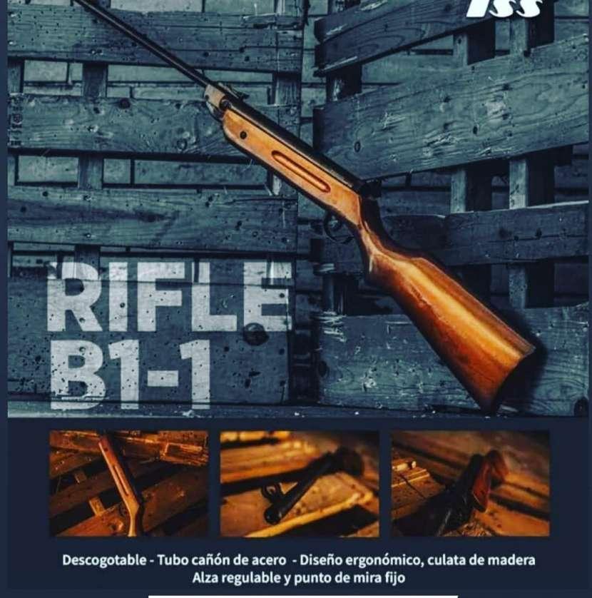 Rifle b1-1 de aire comprimido - 0