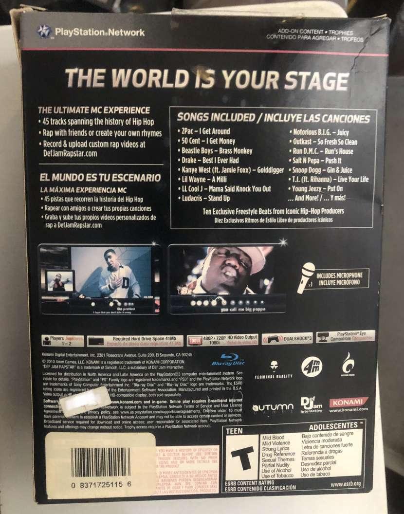 DJ Rapstar para PS3 - 1