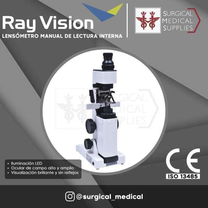 Lensómetro manual de lectura interna LED - 0