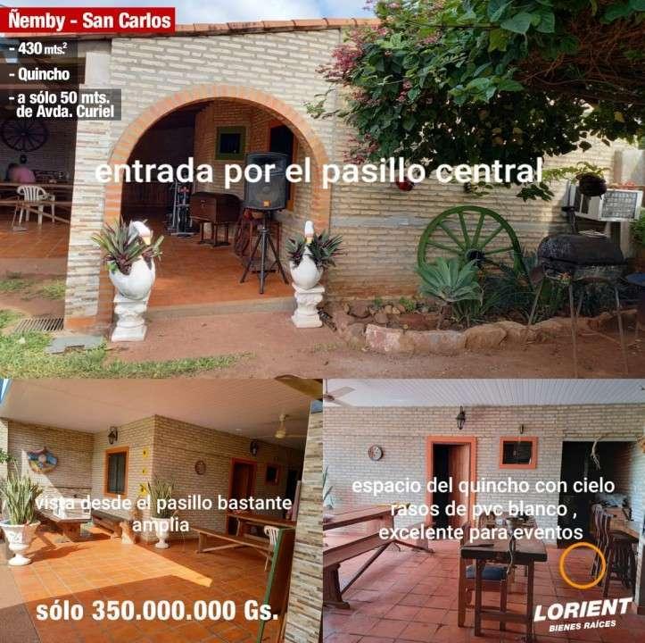 Casa en Ñemby Barrio San Carlos - 1