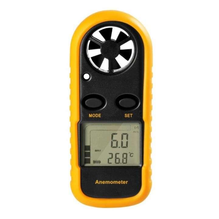 Anemómetro digital medidor de velocidad del aire - 0