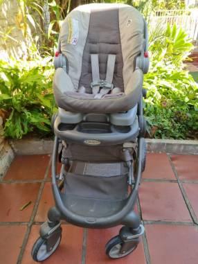 Carrito y baby seat Graco
