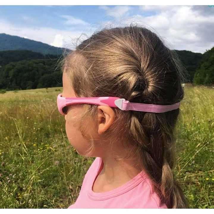 Lente de sol para niñas Koolsun 0 a 3 años - flex pink grey - 2