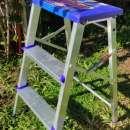 Banqueta con escalera reforzada 2 peldaños (E1202) - 1
