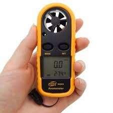 Anemómetro digital medidor de velocidad del aire - 1