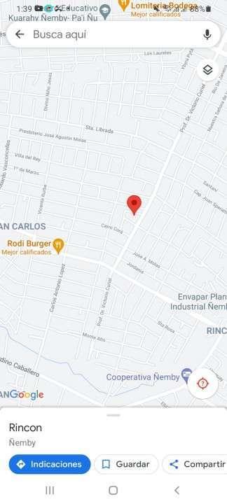 Casa en Ñemby Barrio San Carlos - 0