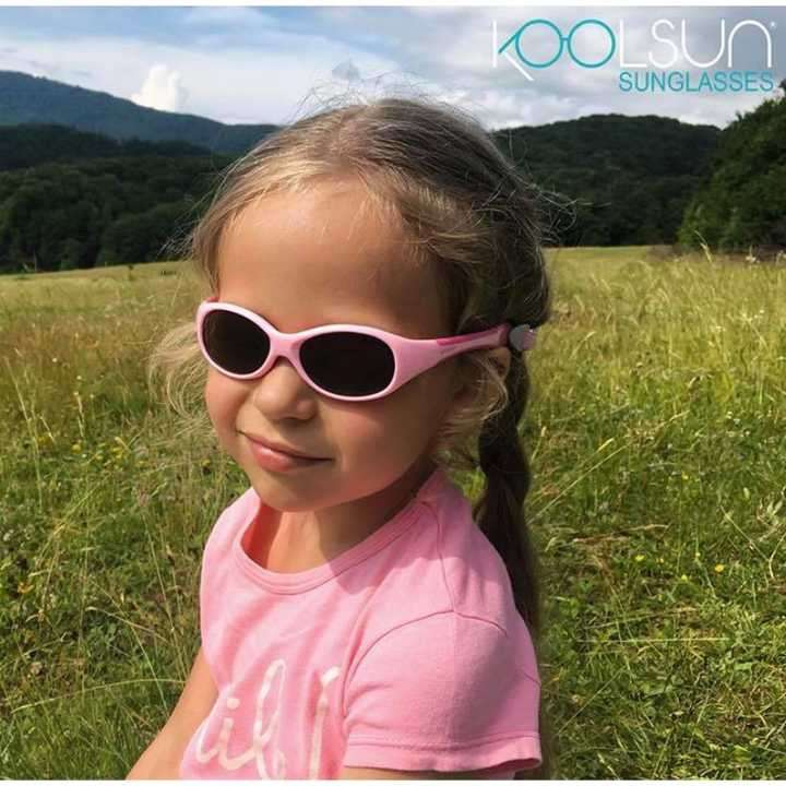 Lente de sol para niñas Koolsun 0 a 3 años - flex pink grey - 3