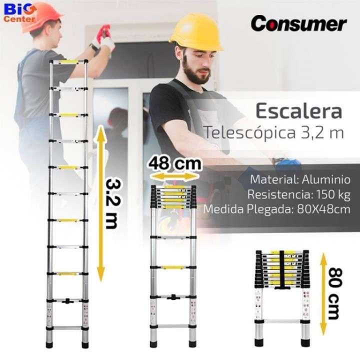 Escalera telescópica 3.20 metros Consumer (172) - 3