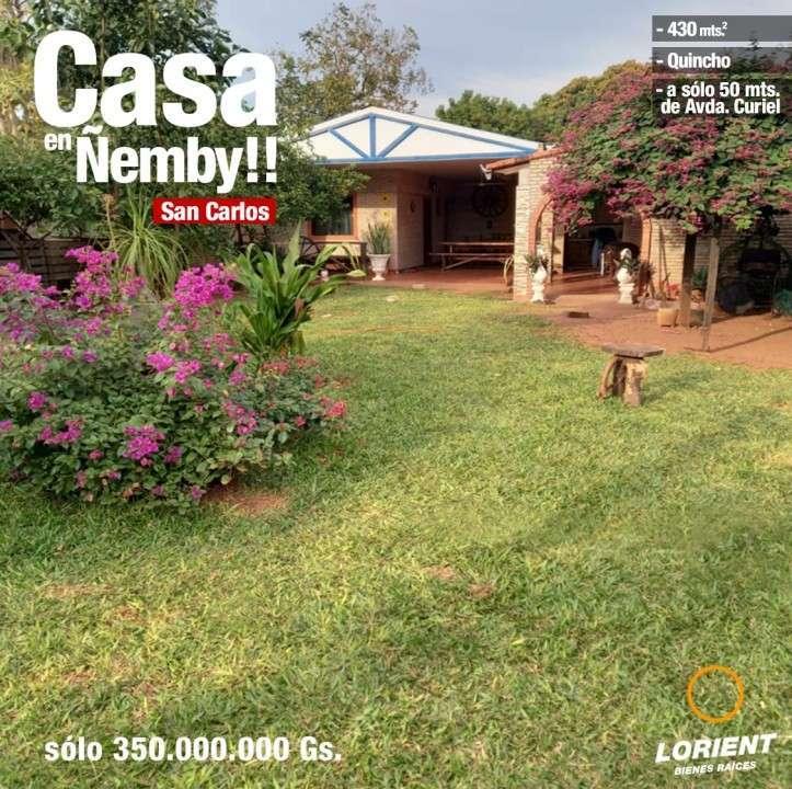 Casa en Ñemby Barrio San Carlos - 6