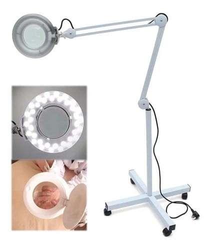 Lupa LED con pedestal - 0