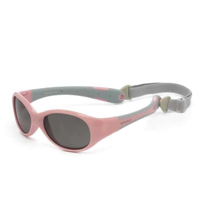 Lente de sol para niñas Koolsun 0 a 3 años - flex pink grey - 0