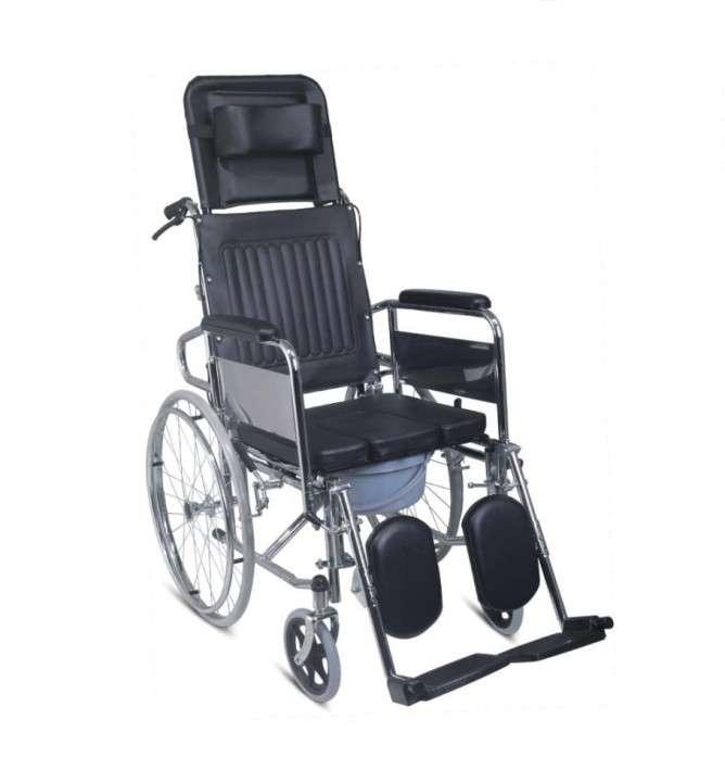 Silla de ruedas de relajación con opción sanitaria - 0