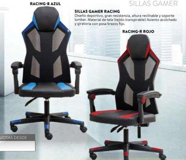 Silla gamer racing 120 Kg Consumer (7001) - 1