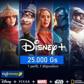 Cuentas Disney+
