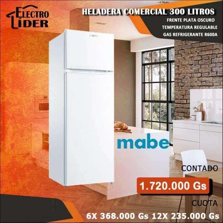 Heladera comercial Mabe 300 litros - 0