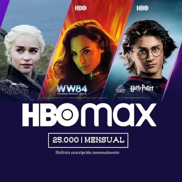 Cuentas HBO Max - 0