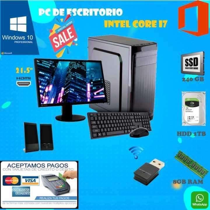 PC de escritorio Intel Core I7 - 0
