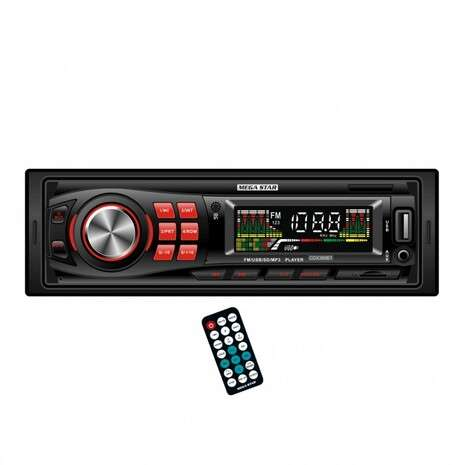 Autorradio Megastar Cdx389Bt - 0