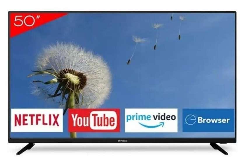 Smart TV 4K de 50 pulgadas - 0