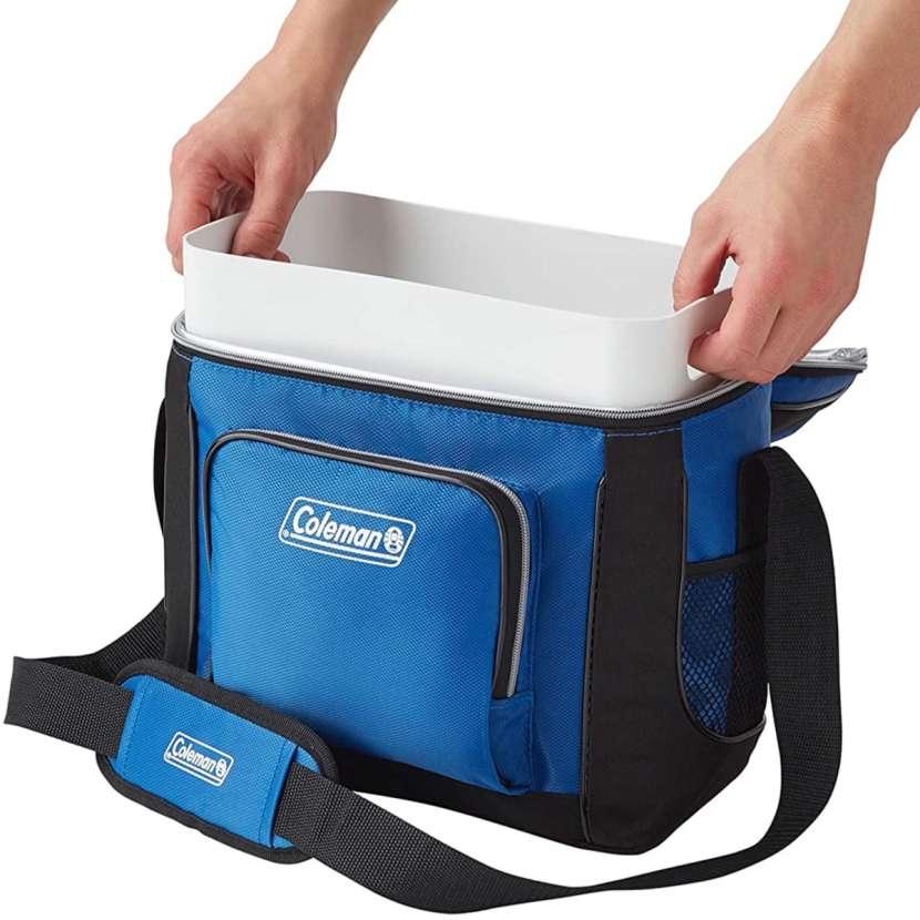 Coleman - Bolsa Refrigerante Azul (16 Latas) - 2