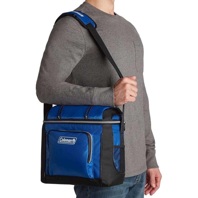 Coleman - Bolsa Refrigerante Azul (16 Latas) - 0
