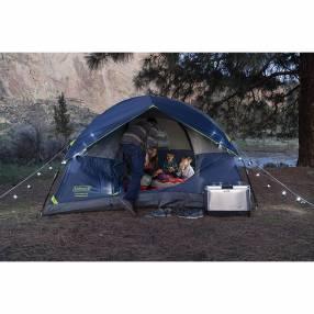 Coleman - Carpa para camping Sundome Azul / Gris (4 personas)