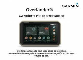 Navegador GPS Garmin Overlander