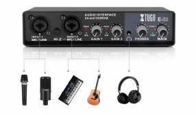 Interfaz de audio Xtuga 2 canales