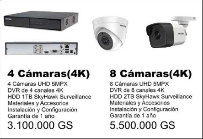 Kit de cámaras de seguridad - CCTV - 2
