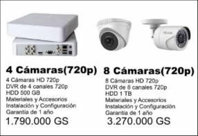 Kit de cámaras de seguridad - CCTV