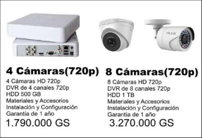 Kit de cámaras de seguridad - CCTV - 0