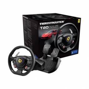 Volante + Pedal Thrustmaster T80 Ferrari 488 GTB Edition